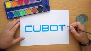 How to draw the Cubot logo