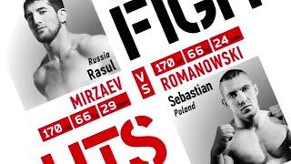 Расул Мирзаев vs. Себастьян Романовски / Rasul Mirzaev vs. Sebastian Romanowski