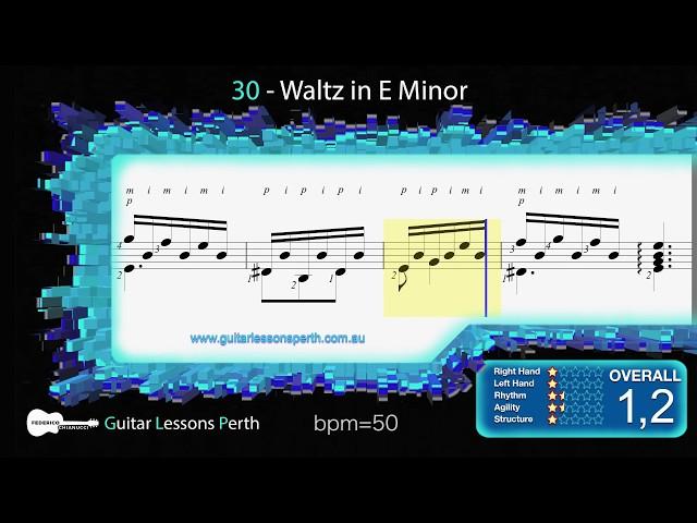 30 - Waltz in E Minor (F. Carulli)