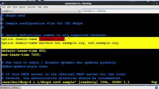 Linux Sys Admin II Week 3: Configure Networking (DHCP Part 1)