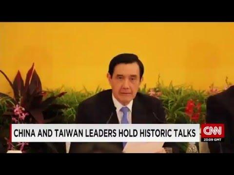 [CNN Listening #02] China and Taiwan Leaders Hold Historic Talks