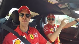 Sebastian Vettel and Charles Leclerc Answer Your Questions! | Behind The Wheel