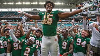 Gregory Rousseau Miami CFB Highlights lll 1st Overall lll