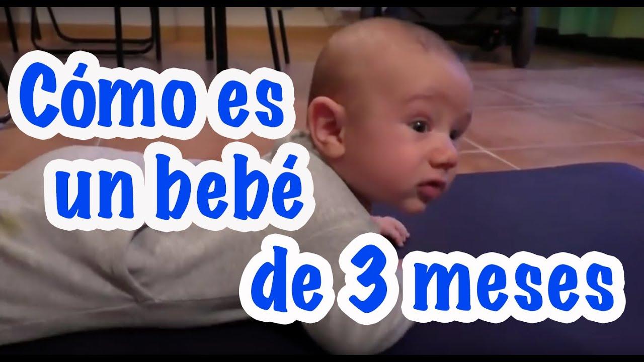 C mo es un beb de 3 meses desarrollo de v ctor youtube - Regalo bebe 3 meses ...