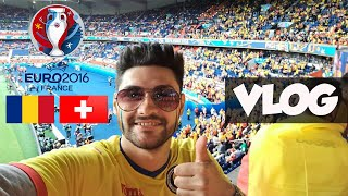 ROMANIA SWITZERLAND 1-1 EURO 2016 HD - GOALS + THE BEST FOOTBALL FANS IN THE WORLD !!!!
