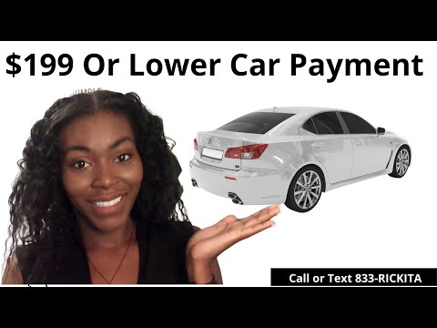 How To Have A Low Car Payment | How To Lower Your Car Payment | What To Do After Repo?