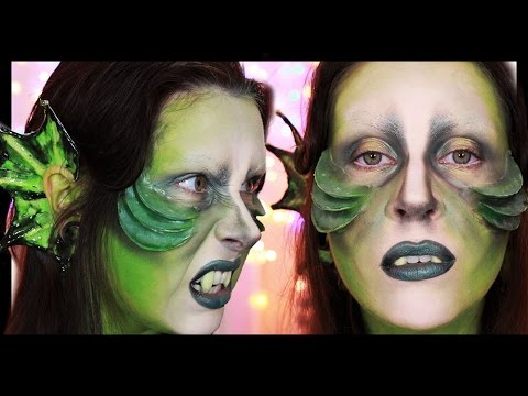 Mythical Creatures Halloween Costumes.Mermonster Makeup Tutorial Mythical Creatures Collab