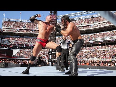 Randy Orton hits Seth Rollins with a jaw-dropping RKO out of nowhere: WrestleMania 31