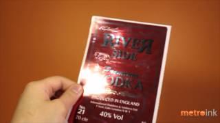 Metroink Akua Foil Sticker (label)