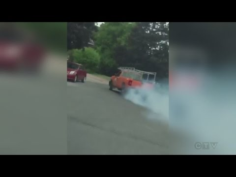 Caught on Camera: Truck pursuit through Ottawa streets
