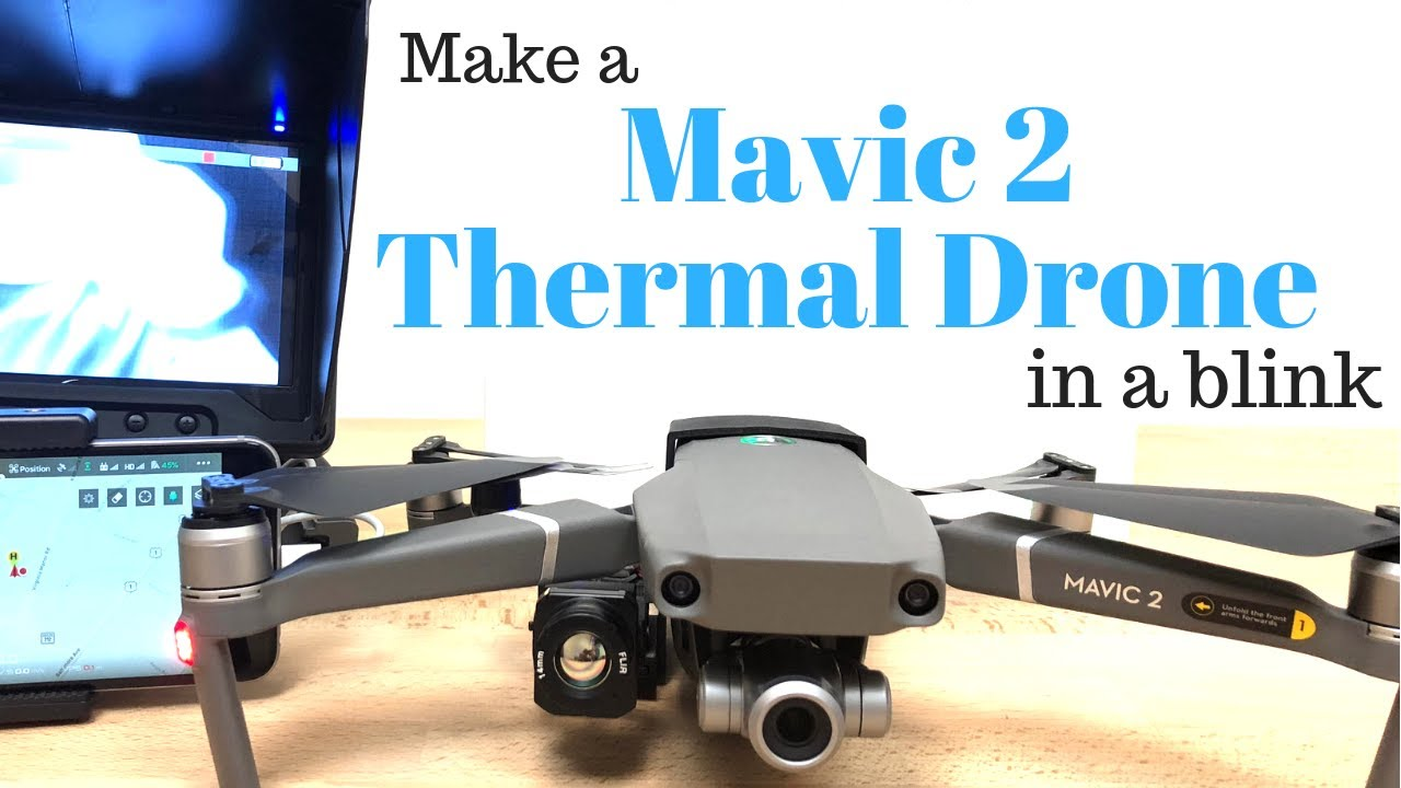 Thermal System for Mavic with FLIR Boson |Maryland|sUAS com