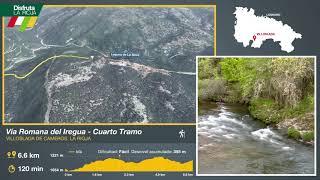 Cuarto tramo de la Vía Romana del Iregua, Villoslada de Cameros. Disfruta La Rioja
