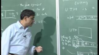 Mod-01 Lec-42 Separation of recursive and r.e. classes, halting problem and its undecidability.
