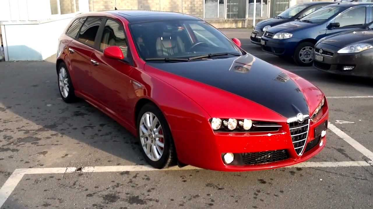 alfa romeo 159 sw 2 4 jtd 210cv automatique youtube. Black Bedroom Furniture Sets. Home Design Ideas