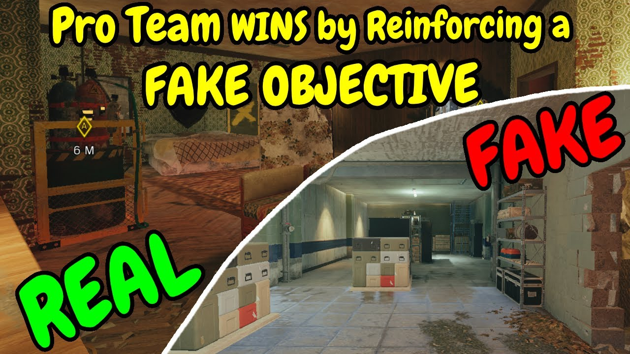 Pro Team WINS by Reinforcing a FAKE OBJECTIVE | What Free Weekend Looks Like - Rainbow Six Siege