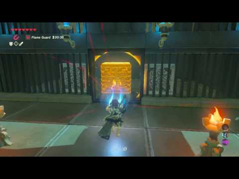 Zelda Breath of the Wild - Qua Raym Shrine + chest