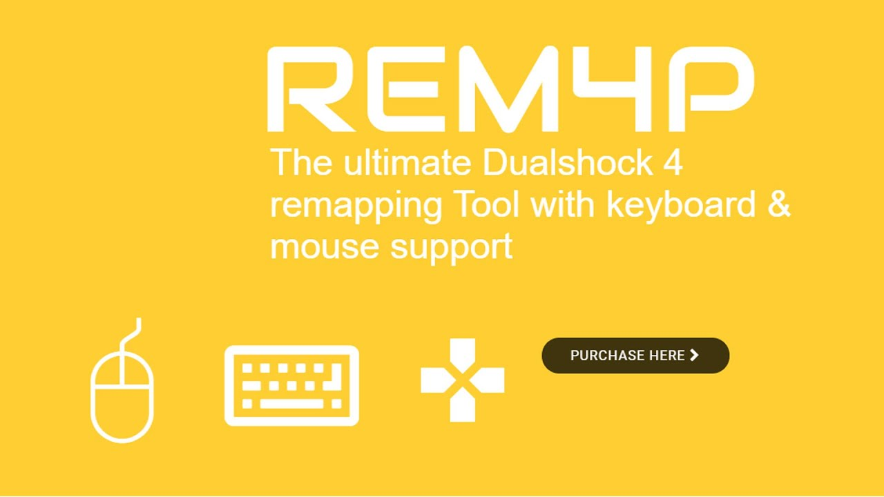 Playstation 4 mit Tastatur und Maus spielen (REM4P v1 Tutorial)