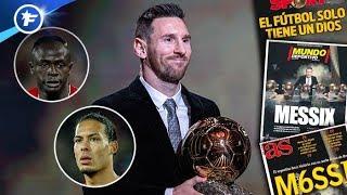 VIDEO: Le Ballon d'Or de Lionel Messi fait beaucoup parler | Revue de presse