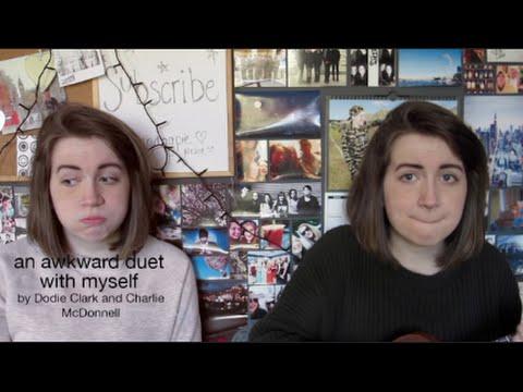 an awkward duet with myself | doddleoddle & charlieissocoollike mashup