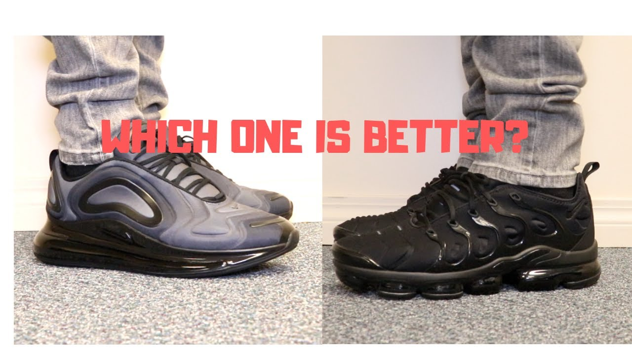 NIKE AIR MAX 720 VS VAPORMAX PLUS WITH ON FEETWHICH ONE IS BETTER?