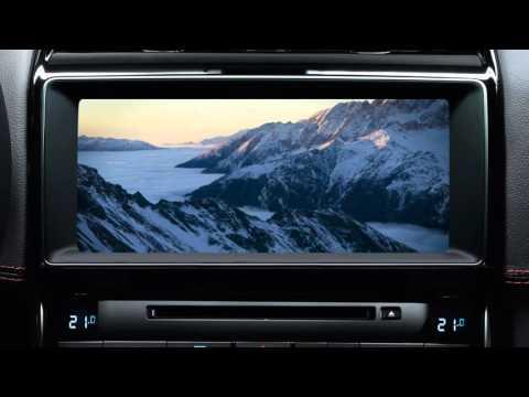 Jaguar XE 2017 | InControl Touch Pro Media System