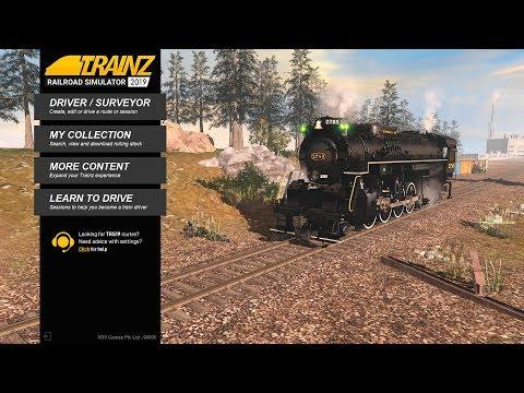 Знакомимся с Trainz Railroad Simulator 2019