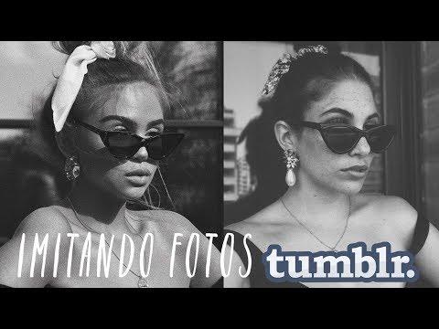 IMITANDO FOTOS TUMBLR EN CASA CON EL MÓVIL+ EDICIÓN💕