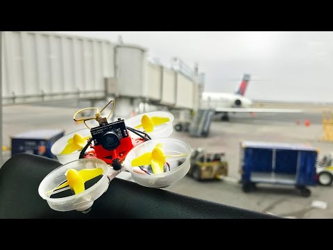 Flying Drones in the Airport