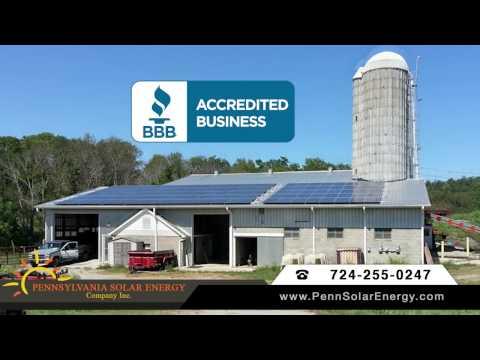 Pennsylvania Solar Energy Company BBB Ad 30 Sec