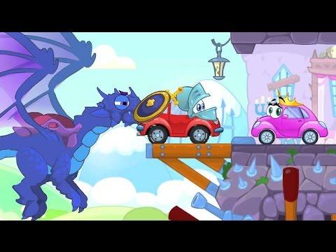 Приключение красной машинки и яйцо игра как мультик про машинку и разбитое яйцо Risky Road