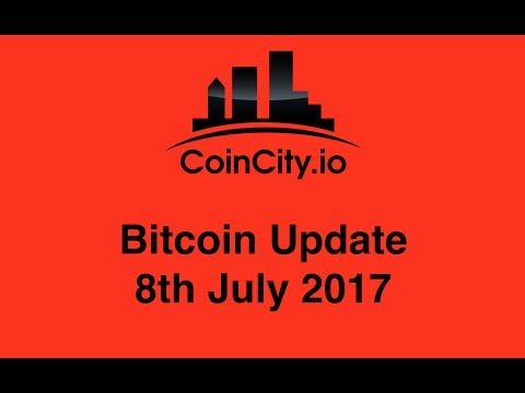 CoinCity Bitcoin Update July 8th 2017