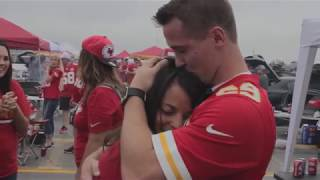 Kansas City Chiefs Wedding Proposal