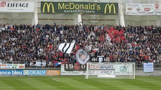 Amiens sc Laval ambiance stade de la licorne