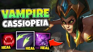 Download SUPER HEALING CASSIOPEIA IS UNKILLABLE IN SEASON 11! THE ULTIMATE 1V9 MACHINE - League of Legends