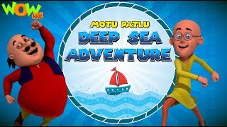 Motu Patlu | Deep Sea Adventure | FULL MOVIE | New Years Special | Wow Kidz