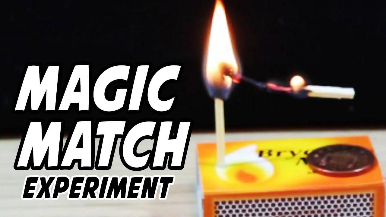 match tricks fire
