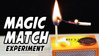 Magic Trick With Matches And A Coin