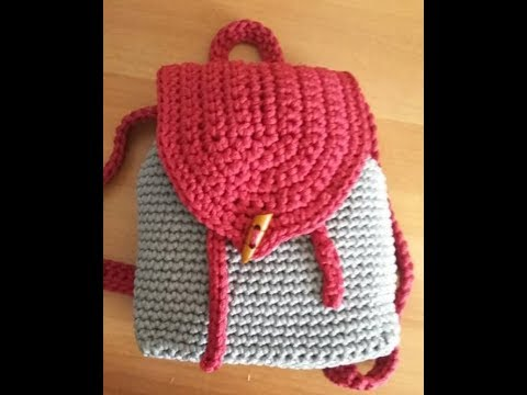 Sac A Dos Au Crochet Explications