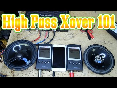 What is a High Pass or HPF crossover 101
