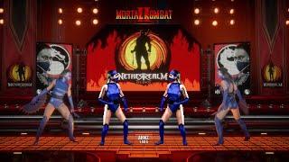 Kitana & Jade MK2 vs Mortal Kombat 11 DIRECT COMPARISON