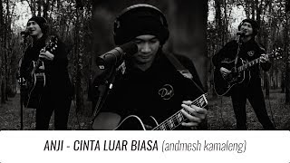 Gambar cover ANJI - CINTA LUAR BIASA (Andmesh Kamaleng)