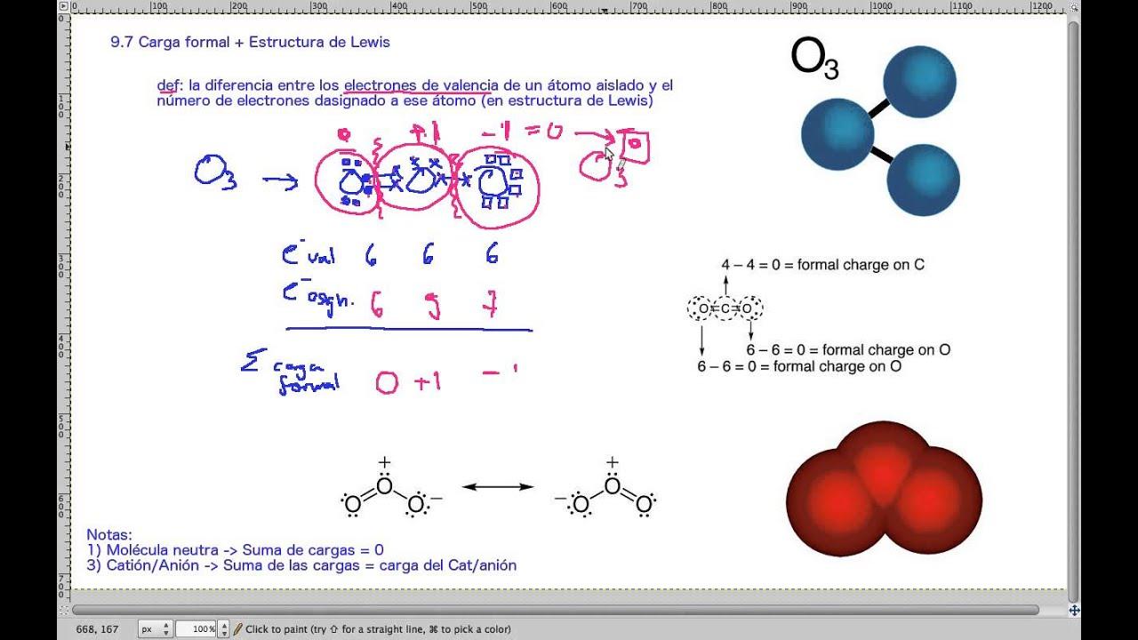 Carga Formal En Estructura De Lewis Qb196