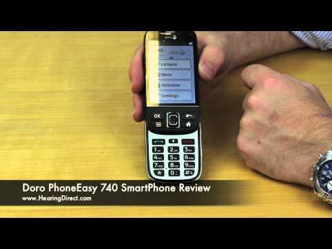 Doro PhoneEasy 740 SmartPhone Review