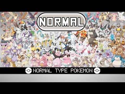 All Normal Type Pokémon