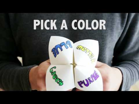 Fortune Teller/Cootie Catcher - DoYouRemember?