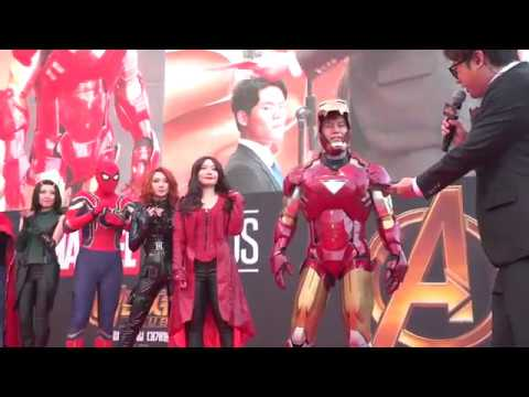 Avengers: Infinity War: Red Carpet Fan Event Seoul Korea