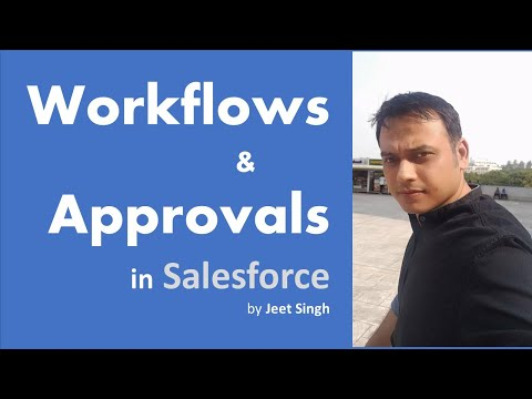 Creating Workflow Rules & Approval Proceses in Salesforce | by Jeet Singh