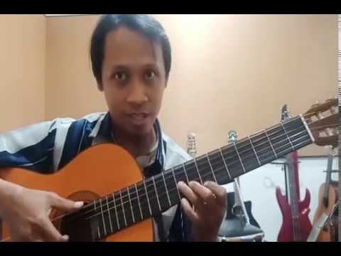 "Tutorial Fingerstyle Guitar Lagu ""Ku Sadari Akhirnya"" - Gigi"