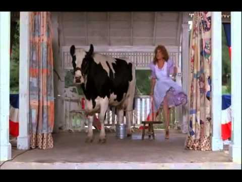 Bette Midler -  Big Business  - Cow Milking Scene