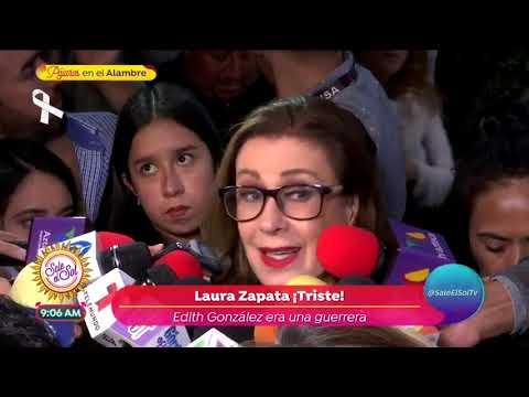 Así se vivió el funeral de Edith González | Sale el Sol
